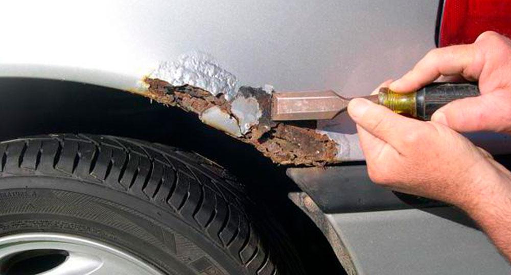 Удаление ржавчины с авто