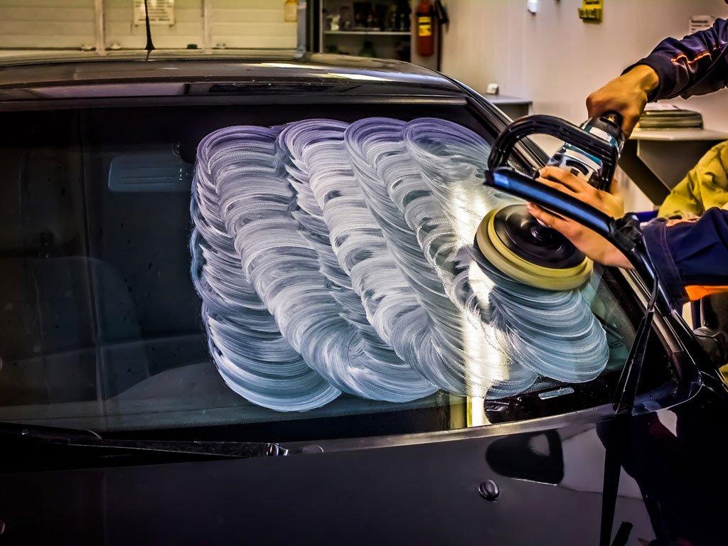 полировка стекол