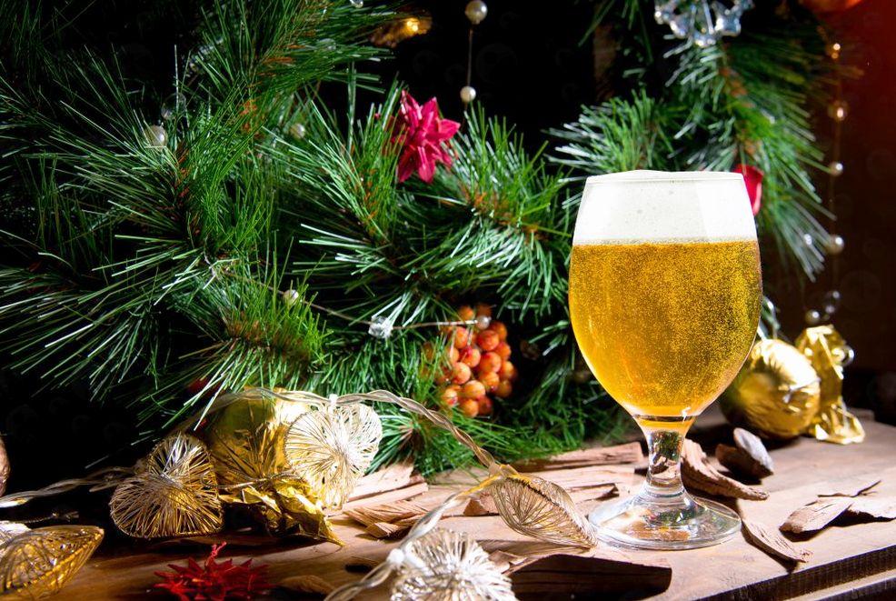 Пиво на Рождество