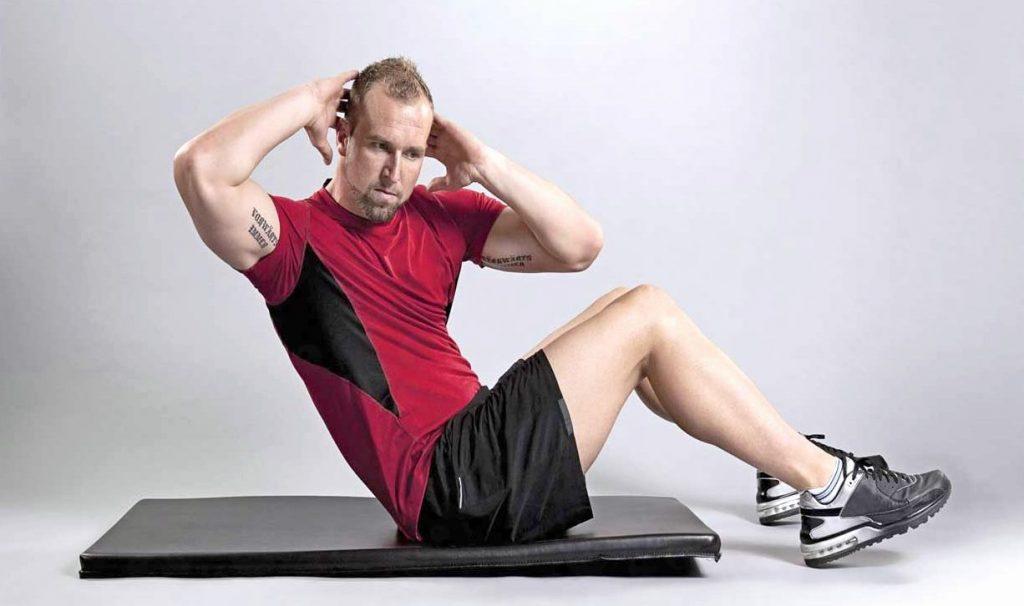 Подьемы тела для мышц пресса