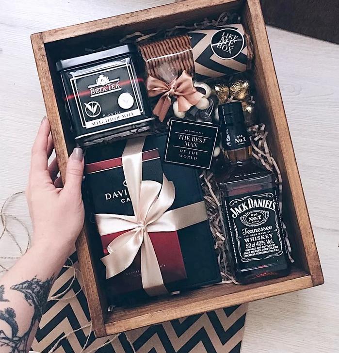 подарочный набор алкоголя для мужчины