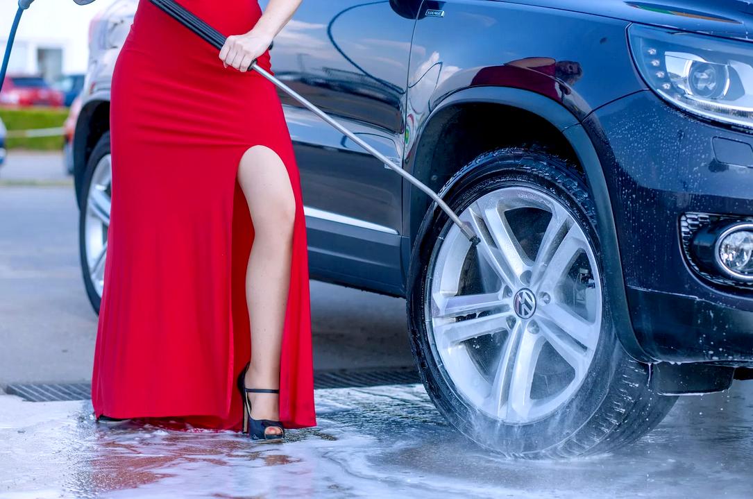 Как мыть авто на мойке самообслуживания