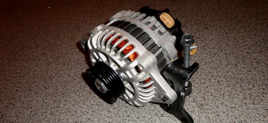 Как снять генератор на Kia Spectra