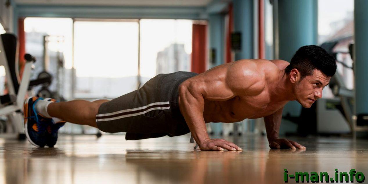 Можно ли с помощью отжиманий набрать мышечную массу