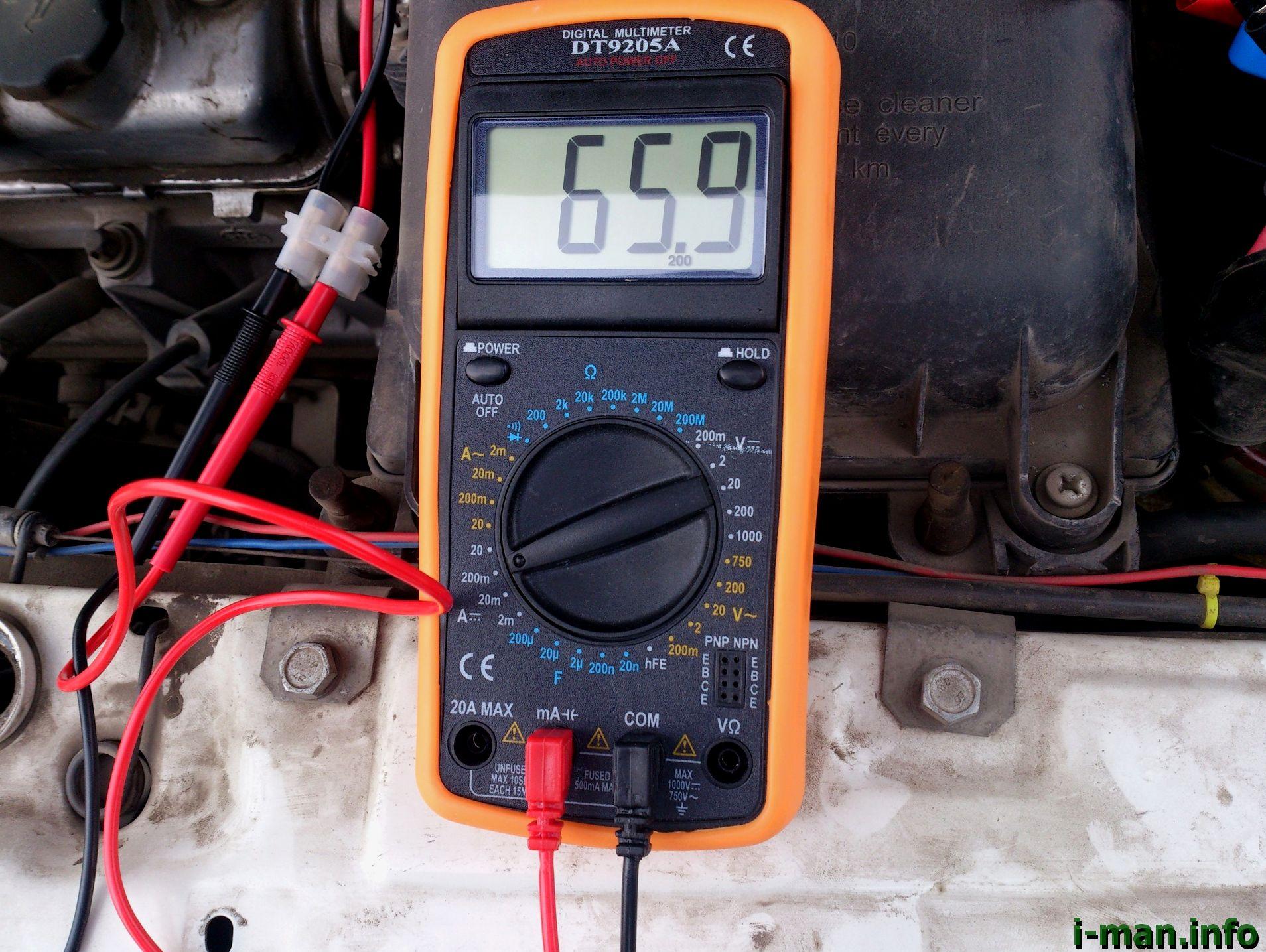 Как пользоваться мультиметром в машине